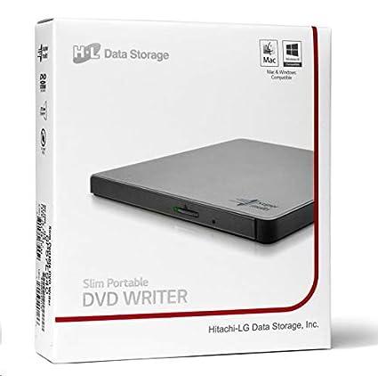 LG GP57ES40 - Grabadora DVD RW Slim Externa (USB), Color Plateado