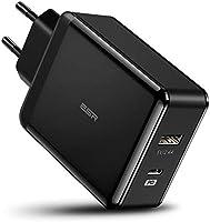 ESR 30W Cargador USB C con Power Delivery, 18W PD para iPhone 12/12 Pro/12 Mini/12 Pro MAX/SE 2020/11/11 Pro/11 Pro...