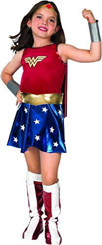 Halloween Costumes For 7 Year Old Girls (Super DC Heroes Wonder Woman Child's Costume, Medium)
