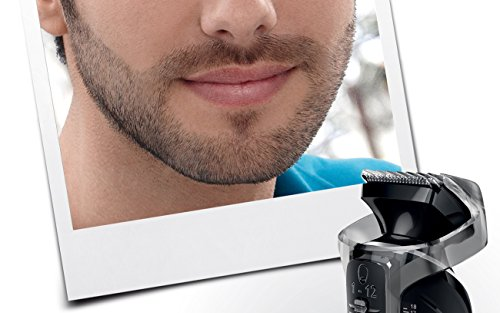philips norelco multigroom 7100 all in one trimmer with 8. Black Bedroom Furniture Sets. Home Design Ideas
