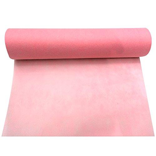 Smiffy 's-Camino de mesa, color rosa claro, rollo intisse 30cmx 5 m Smiffy ' s-Camino de mesa
