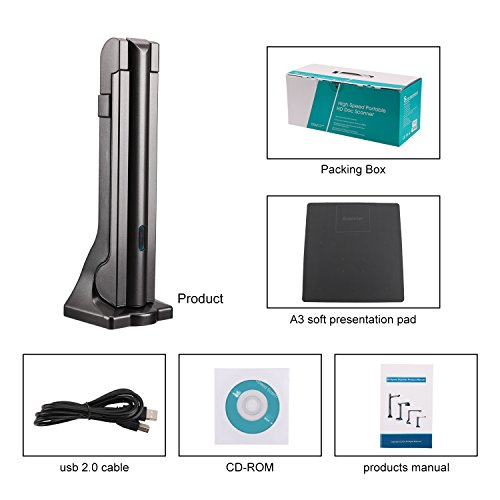 eloam Portable USB Document Camera Scanner S600 with,A3 Capture Size,5 MegaPixel CMOS, High-Definition Digital Visual Presenter by eloam (Image #6)