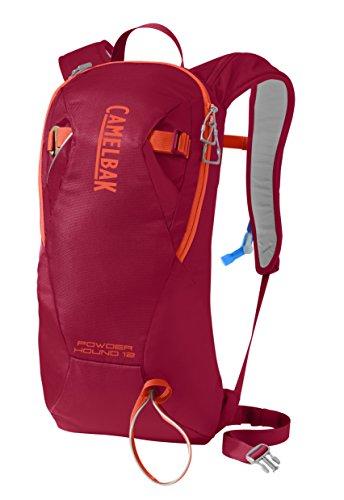 CamelBak Powderhound 12 Ski Hydration Pack, Chili Pepper, 3 L/100 (Hydration Pack Chili Pepper)