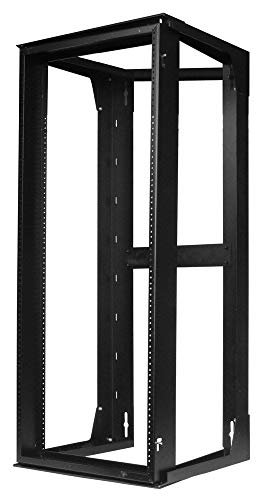 "Hubbell HPWWMR48 Wall Mount Network Rack, Swing Frame, 25U, 47"" Height x 18"" Deep"