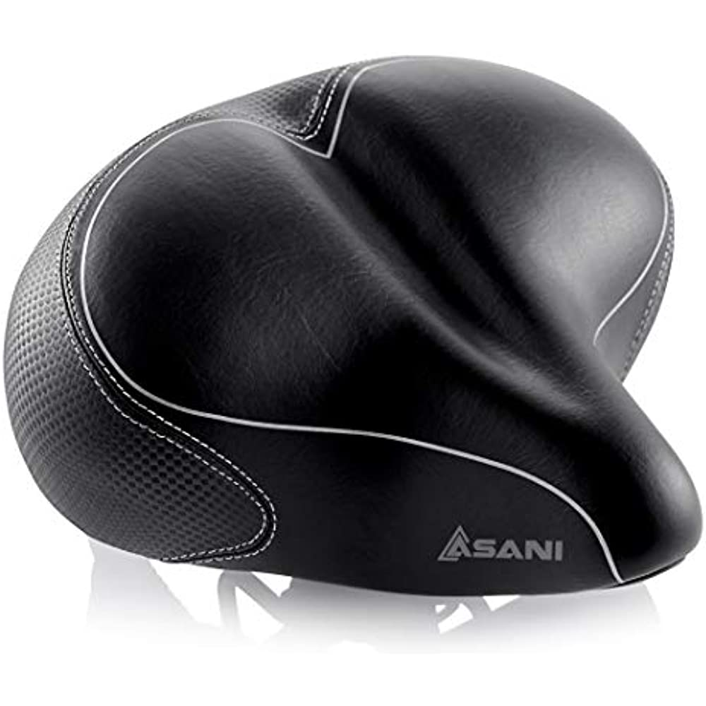 New Asani Comfortable Bike Seat for Women Comfort Bicycle Saddle for Mountai..