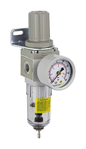 PneumaticPlus SAW2000M N02BG Miniature Compressed Regulator