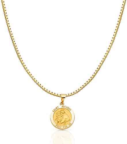 Size : 21 x 16 mm GoldenMine 14k Two Tone Gold CZ 15Years Motion Pendant