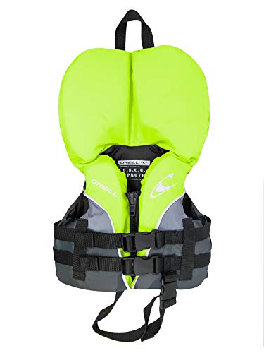 O'Neill Superlite USCG Nylon Infant Life Vest Lime/Graphite/Smoke (4727) ()