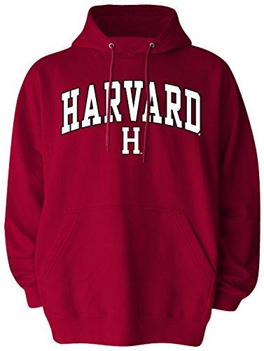NCAA Harvard Crimson Pullover Hood, Medium, Crimson