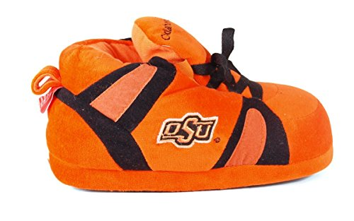 Happy Feet Mens Och Womens Officiellt Licensierade Ncaa College Gymnastiksko Tofflor Oklahoma Statliga Cowboys