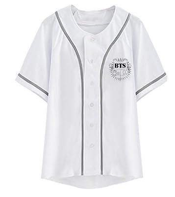 Kpop BTS Shirt Love Yourself Baseball Shirt Jimin Suga V Jungkook Tee Shirt