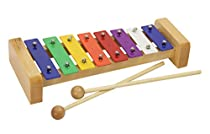 Gearlux Kids' Xylophone/Metallophone with 8 Color-Coded Keys