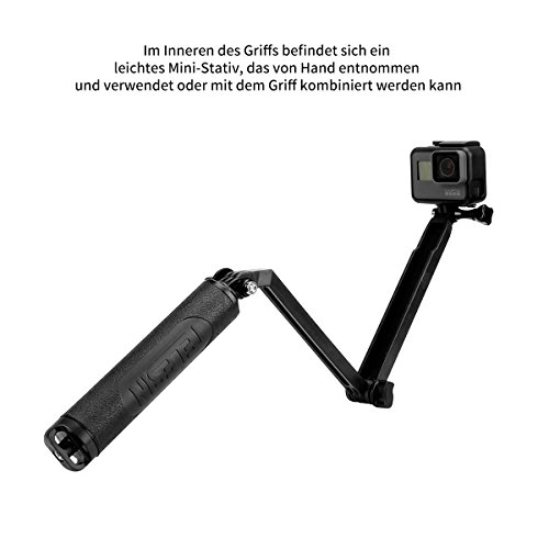 32e2d3670362b2 ... AFAITH Waterproof Multi-function Tripod Extendable Handheld Monopod  Adjustable Selfie Stick with Tripod for GoPro ...