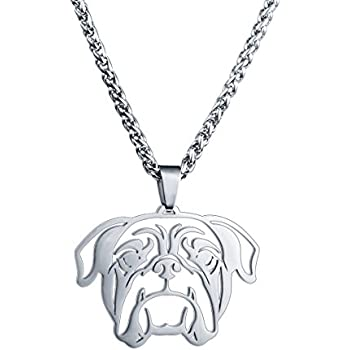 Amazon Com Stainless Steel Miniature Standard Toy Poodle Head Pet