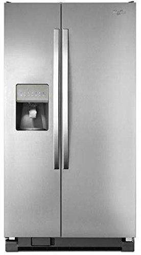 Whirlpool WRS325FDAD 25.4 Cu. Ft. Universal Silver Side-By-Side Refrigerator - Energy Star