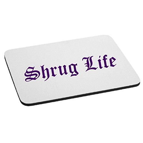 Funny Shrug Life IDK Thug Life Parody Mouse Pad - - Life Parody Thug