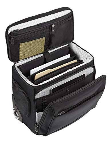 (Ativa Ultimate Compact Workmate Rolling Briefcase with 17