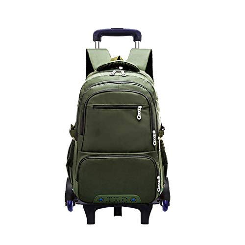 Hand carry bag, multifunctional, removable dual purpose bag, sealed water resistant fabric, water drops will not easily penetrate into the bag, carrying (Color : Green, Size : -)