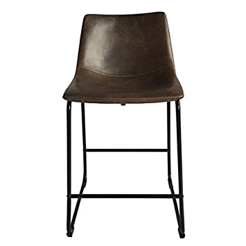 High Quality Bar Furniture/ Bar Stool, Modern Cedric Faux Leather Counter Height/Stool  (Set