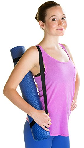 Veda Yoga Mat Carrying Strap Sling, Adjustable Loops for all Mat Sizes