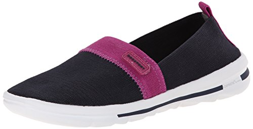 Rock On Air Comfort Slip-on Deep Ocean Gore Washable Sneaker 6.5 M (Rockport Washable)