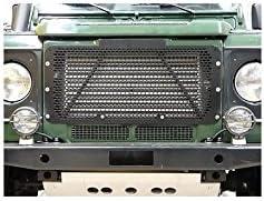 Land Rover DA2356B Stainless Steel Grill for Defender Black