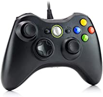 Dhaose Wired Controller for Xbox 360, USB Wired PC Joystick Gamepad for Xbox 360,Improved Ergonomic Design Controller for...