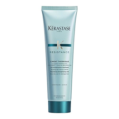 Kerastase Paris Resistance Ciment Thermique Conditioner, 5.1 ounce(150ml) (Kerastase Conditioners)