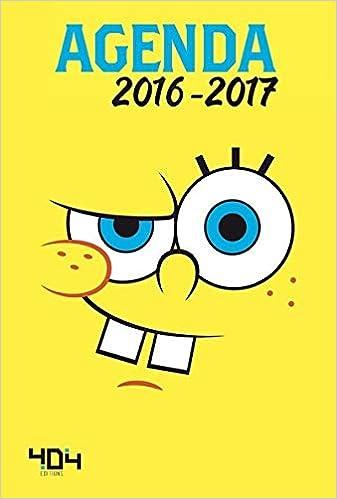 Agenda Bob léponge 2016-2017: Amazon.es: Nickelodeon ...