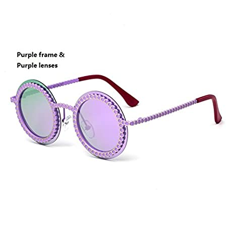 b8d5f0726e7bf Image Unavailable. GR Child Frameless Sunglasses Boys Girls Kids Baby  Goggles UV400 Mirror Round Punk Sunglasses Fashion Children