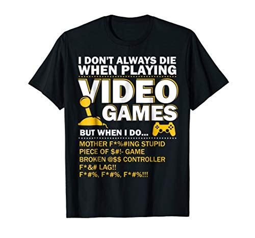 Playing Video Games Gamer Shirt Funny Gaming Console Gamer