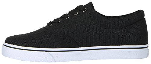 Lugz Mens Vet Cc Fashion Sneaker Nero / Bianco
