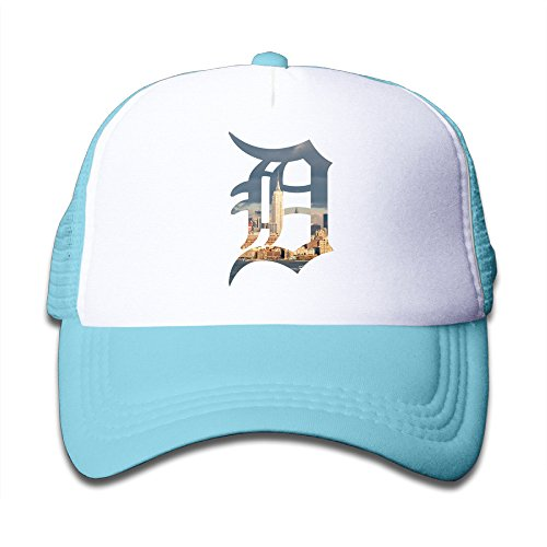- Namii Detroit Tiger Youth Trucker Hat Sports Baseball SkyBlue Size One Size
