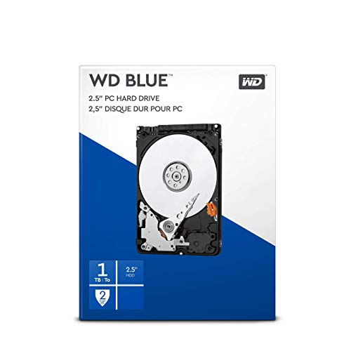 WD Blue 1TB Mobile Hard Disk Drive - 5400 RPM SATA 6 Gb/s 128MB Cache 2.5 Inch - WD10SPZX (Renewed) by Western Digital (Image #2)