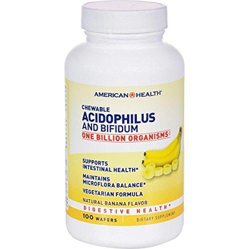 American Health Acidophilus Probiotics, Banana, 100 Count