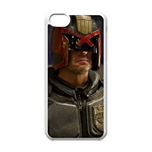 iphone5c phone cases White Judge Dredd cell phone cases Beautiful gifts PYSY9377348