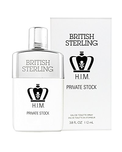 BRITISH STERLING H.I.M. PRIVATE STOCK EAU DE TOILETTE SPRAY 3.8 FL. OZ. (Mens Stock Spice)