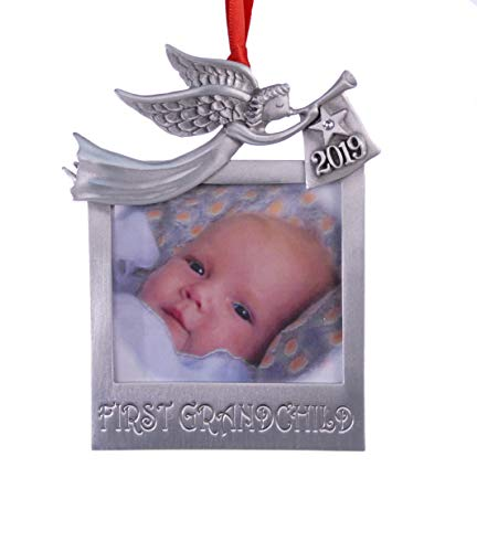 - 2019 First Grandchild Photo Christmas Ornament 3