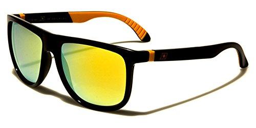 orange soleil Dxtreme multicolore Homme Multicoloured noir Lunettes de qz6wU0a