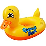 Sealive Newest Yellow Duck Baby Floats with Floating Raft,Good Gift for Starting Swimming Learning Baby&kids
