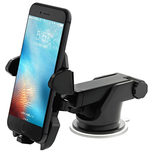 Sanluba Car Mount holder for iPhone 7 Plus 6s 5s 5c Samsung Galaxy S7 Edge S6