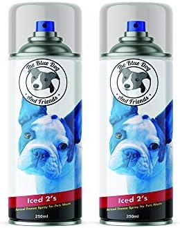 The Blue Dog & Friends 2 Unidades de espray congelado para ...