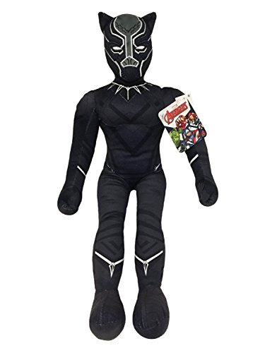 🥇 Jay Franco Marvel Black Panther Plush Stuffed Pillow Buddy – Kids Super Soft Polyester Microfiber