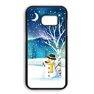 s7 case galaxy s7 case christmas snowman cover. Black Bedroom Furniture Sets. Home Design Ideas
