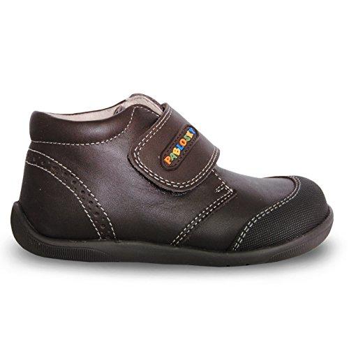 Pablosky , {Chaussures premiers pas pour bébé (garçon) Marron Marrón