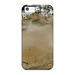 Flexible Tpu Back Case Cover For Iphone 5c - Earth View From Space