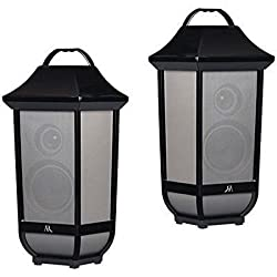 2 Pk Acoustic Research Portable Wireless Bluetooth Speakers Premier Series
