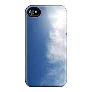 Cute High Quality Iphone 4/4s Snowboarding Blogfa Snowboard Sky Sun X Cases