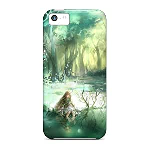 Top Quality Case Cover For Iphone 5c Case With Nice Pixiv Fantasia Appearance