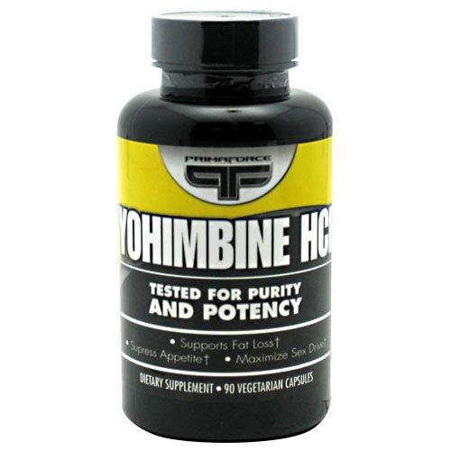 Primaforce Yohimbine HCl Vegetarian Capsules product image